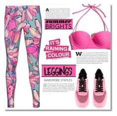 """""""Wardrobe Staples: Leggings"""" by dolly-valkyrie ❤ liked on Polyvore featuring adidas Originals, Hogan, Leggings and WardrobeStaples"""