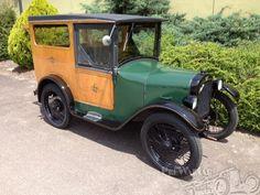 Austin 7 Bakers Van 1929