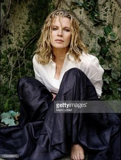 Actor Kim Basinger is photographed for Los Angeles Times Magazine on October 1 1999 in Los Angeles California