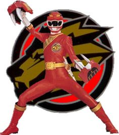 Cole the Red Lion Wild Force Ranger