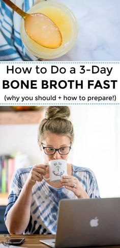 How To Do a Bone Broth Fast (why you should + how to prepare!) All you need to know about how to do a bone broth fast! From the benefits of bone broth-fasting to preparing for your fast, this is an in-depth post about nourishing your body with Bone Broth Detox, Bone Broth Soup, Bone Broth Diet Plan, Drinking Bone Broth, Bone Health, Health Diet, Health Foods, Health Fitness, Chicken Bone Broth Recipe