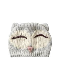 Cute owl hat. Don't know if I'd wear it myself if I had one, but would look great on a baby<3 Maybe my motherinlaw can make one for me one fine day;-)