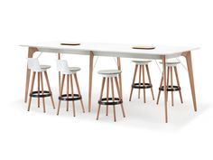DGM 126  TIMBA Table  Designed by Pearson Lloyd for Bene
