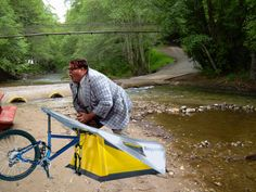 Photoshop Friday: I live in a bicycle...down by the river!...