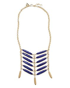 Amrapali Collection Lapis Necklace. Gawd, this needs to be around my neck!