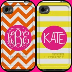 Personalized Lifeproof cases