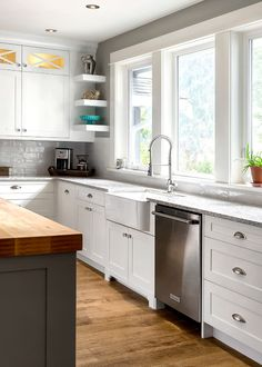 custom kitchensouth shore cabinetry, vancouver island, bc