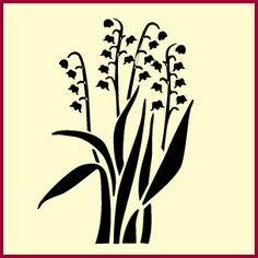 Lily of the Valley from The Artful Stencil