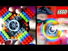 DIY GIANT Lego Fidget Spinner Tutorial! Make your own awesome Lego Hand Spinner! - YouTube