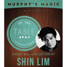 AT THE TABLE LEC. - SHIN LIM LATAUSVIDEO -  - 53877L