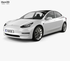 model of Tesla Model 3 2018 City Skylines Game, Car 3d Model, Models, Future, Parts Of The Mass, Dios, Templates, Future Tense, Fashion Models