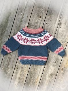 Excited to share this item from my #etsy shop: STJØRNU sweater pattern for knitters - children sizez, English and Norwegian   #knittingpattern #pattern #handknit #knit #norwegian #nordic