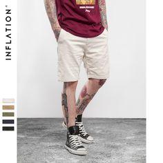 Summer New fashion Walk Mens Shorts Casual Classic Regular Fit Solid Color Men Short