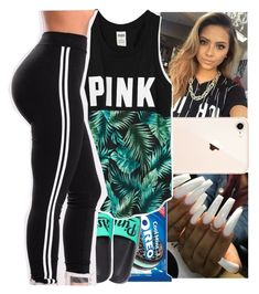 """""""night set"""" by tropic-baby ❤ liked on Polyvore featuring Victoria's Secret"""