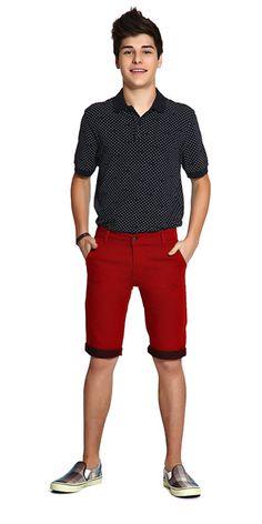 M2A Jeans | Spring Summer 2014 | Teen Boy Lookbook | Pimavera Verão 2014 • bermuda; jeans; camisa polo.