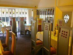 Charles Rennie Mackintosh's Designs loving restored - Willow Tea Rooms,