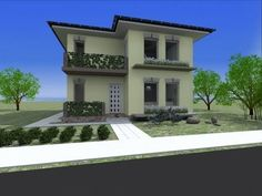 Casa Iulian. www.oncasa.ro Home Projects, Mansions, House Styles, Home Decor, Houses, Mansion Houses, Homemade Home Decor, Villas, Fancy Houses