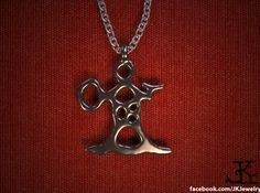 Korpiklaani Inspired Shaman Necklace 3d printed Korpiklaani Brass Necklace