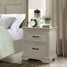 West Gate Nightstand  Costco Costco Business, King Storage Bed, Dresser As Nightstand, Nightstands, Product Label, Storage Drawers, 1 Piece, Gate, Furniture