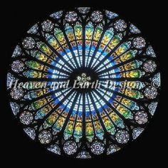 This would be spectacular! A cross stitch chart of the Rose Window in Notre Dame.
