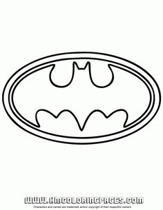 Peaceful image throughout free printable batman logo coloring pages