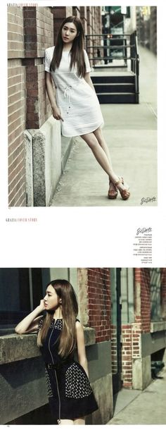Tiffany graces the cover of 'Grazia' | allkpop.com