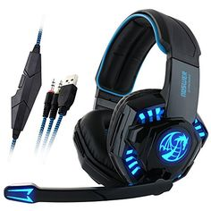 Headsets Noswer Professional Gaming Headset Led Light Earphone Headphone With Microphone Gaming Microphone, Headphones With Microphone, Headphone With Mic, Computer Headphones, Gaming Headphones, Pc Computer, Mac Laptop, Laptop Computers, Pro Gaming Headset