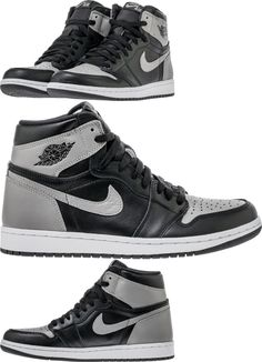 7f3ee95a7dd14 Mens Shoes 93427  Nike Air Jordan 1 Retro High Og Shadow 555088-013 Lot