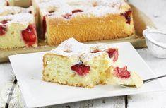 Ciasto jogurtowe z truskawkami, 2 Vanilla Cake, Cheesecake, Cooking Recipes, Fruit, Food, Fruit Cakes, Recipes, Cheesecakes, Essen