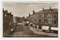 Description of Stonelaw Road, Burnside, from railway bridge Glasgow Scotland, Scotland Travel, Royal Charter, Family History Book, 14th Century, Vintage Photos, Places To Visit, Street View, Slc