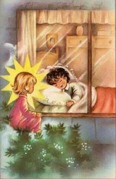 Angelo Custode  regalarmi  un bellissimo risveglio, nella Luce della tua presenza Amen.