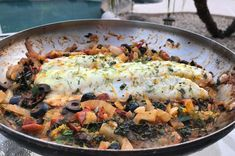 Zesty Mediterranean Cod with Kale