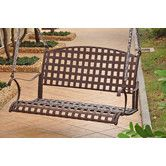 Found it at Wayfair - Santa Fe Iron Outdoor Porch Swing