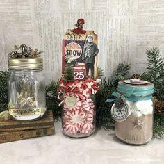 Mini Mason Jars Christmas