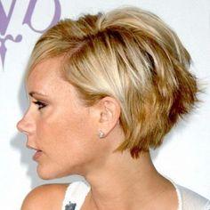 Coiffure cheveux courts fins