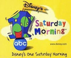 Disney's One Saturday Morning line up on ABC