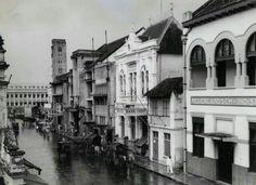 Handelstraat Soerabaja 1925