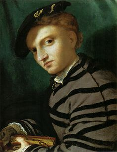 Portrait Of A Young Man With A Book 1527 Greeting Card for Sale by Lotto Lorenzo Renaissance Portraits, Renaissance Paintings, Baroque Art, Italian Renaissance, Renaissance Clothing, Art Database, Italian Art, Portrait Art, Great Artists