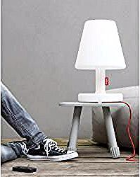 Eclairages Led Wicker Mirror Led Table Lamp