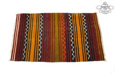 Striped Embroidered Semi Antique Tribal by AnatoliaCollection