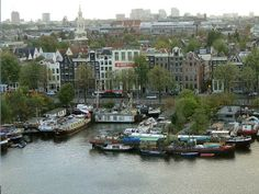 Impressões de Viagens: Amsterdam vista do alto