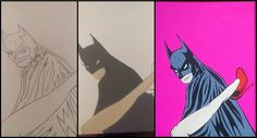 Batman, Superhero, Fictional Characters, Art, Superheroes, Kunst, Fantasy Characters, Art Education, Artworks