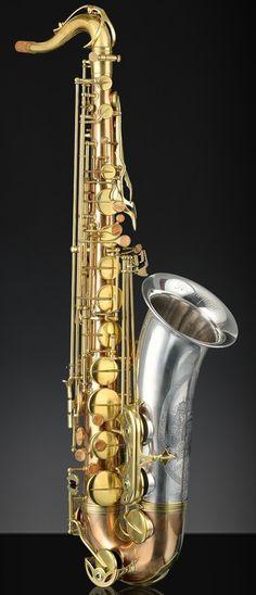 "Rampone & Cazzani ""Due Voci"" (two voices) Tenor Saxophone --- https://www.pinterest.com/lardyfatboy/"
