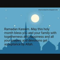 Facts And Points │Knowledge Beyond Vision Ramzan Wishes, Mubarak Ramadan, Your Family, Acceptance, Prayers, Blessed, Knowledge, Facts, Happy