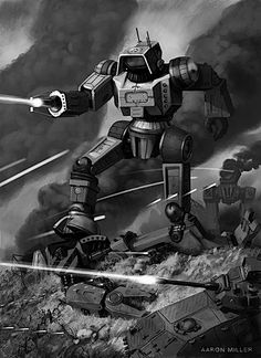 Highlander Battle - BattleTech by AaronMiller.deviantart.com on @deviantART