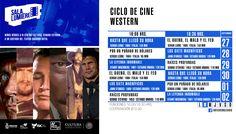 Cartelera Sala Lumiére, Ciclo de Cine: Western. Del 27 de septiembre al 2 de octubre de 2016. Dos funciones: 16:00 y 18:30 horas. Cooperación: $10.00 #Culiacán, #Sinaloa.