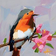 Robin no. 100 Angela Moulton art