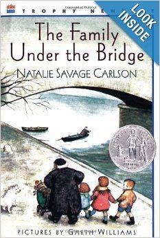 The Family Under the Bridge: Natalie Savage Carlson, Garth Williams: 9780064402507: Amazon.com: Books