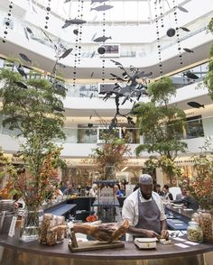 Yet to experience the Salt Yard at the Tatler Restaurant? Today is your last chance to taste delicious charcuterie and other small plates including seabass carpaccio, courgette flowers and croquettes - quickly hurry down to the North Dome! #Focus16