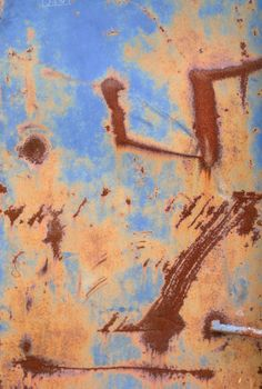 """""""Rusty Dumpster#1"""" I loved the colors and rust on this dumpster, and I had to take a picture, by Crystal Hover"""